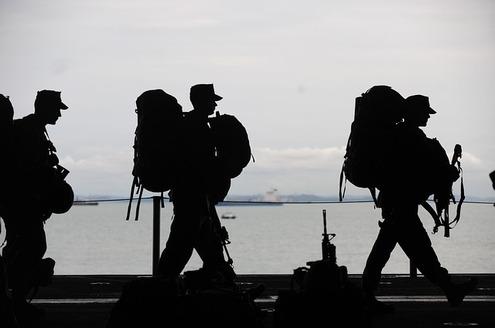Soldiers and Trauma   PTSD